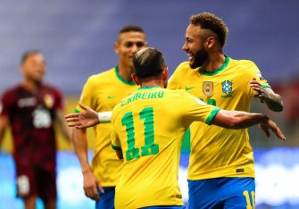 Neymar, Brésil-Venezuela