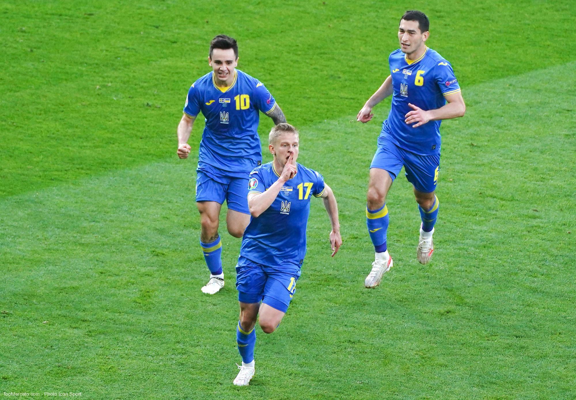 Oleksandr Zinchenko, Suède-Ukraine