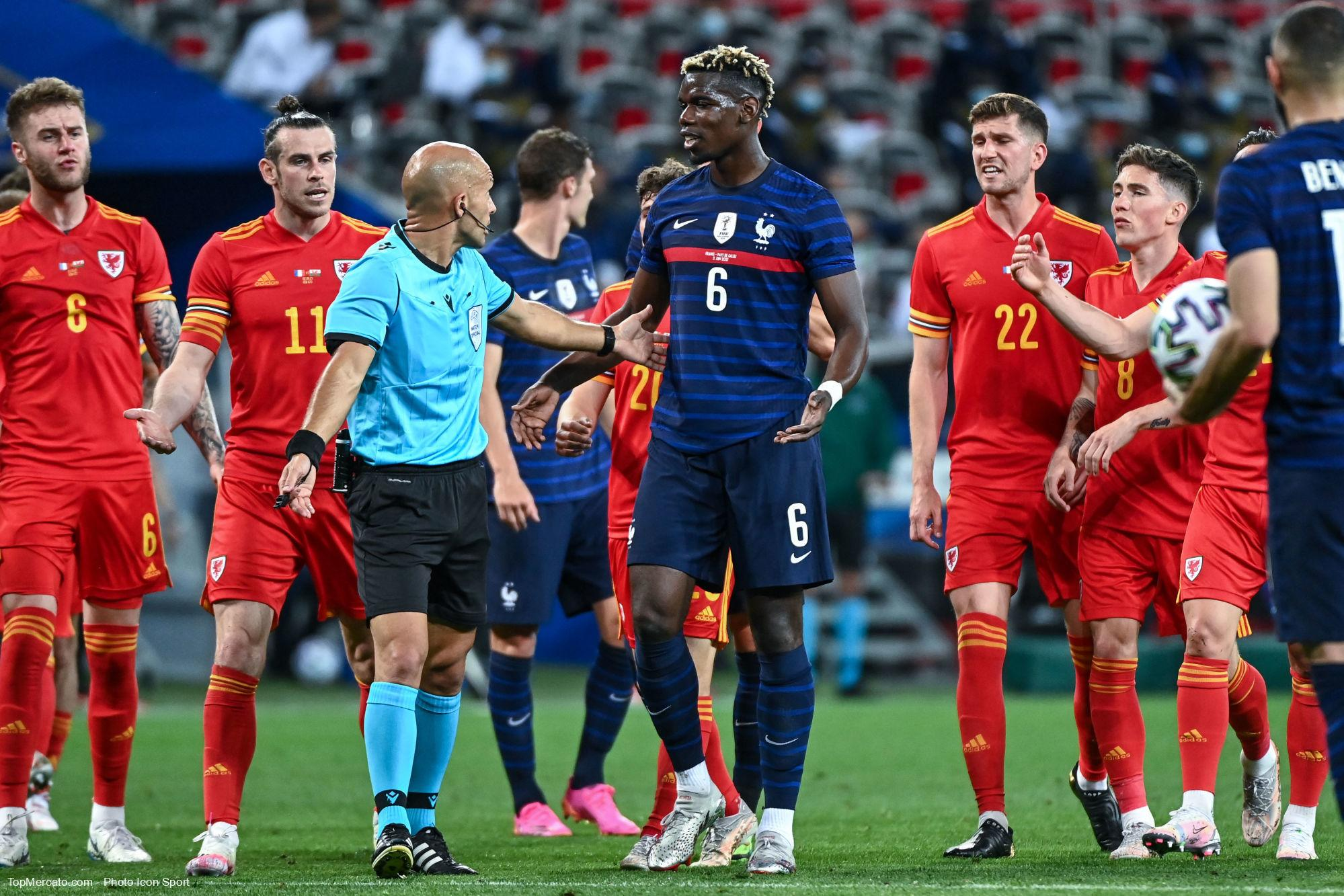 Paul Pogba, arbitre, Equipe de France