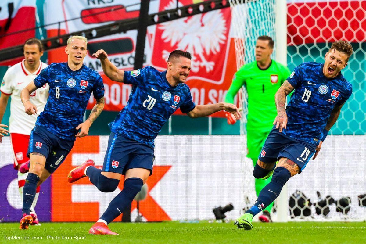 Pologne-Slovaquie, Euro