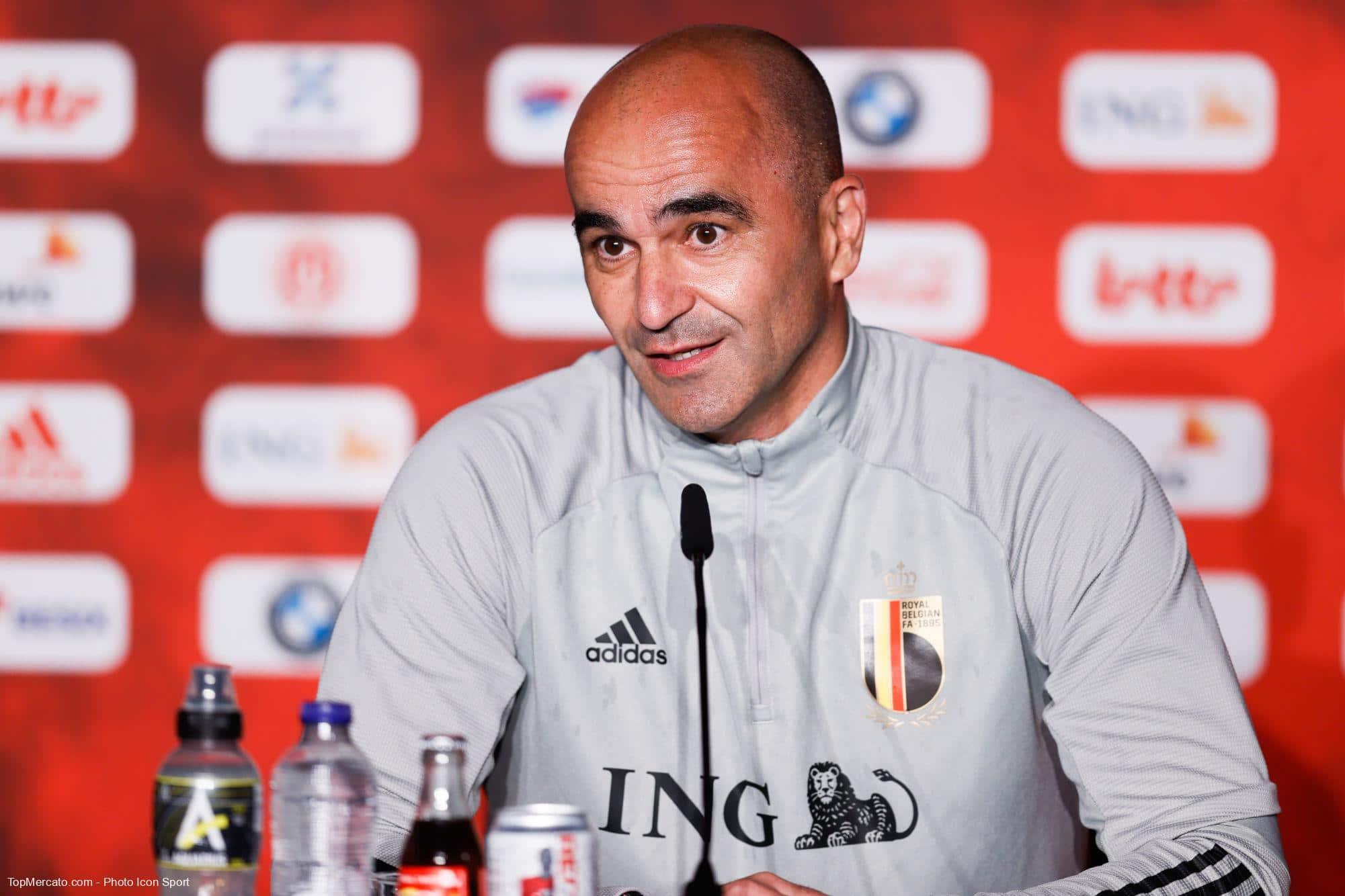 Belgique : Martinez se plaint du penalty de l'Italie thumbnail
