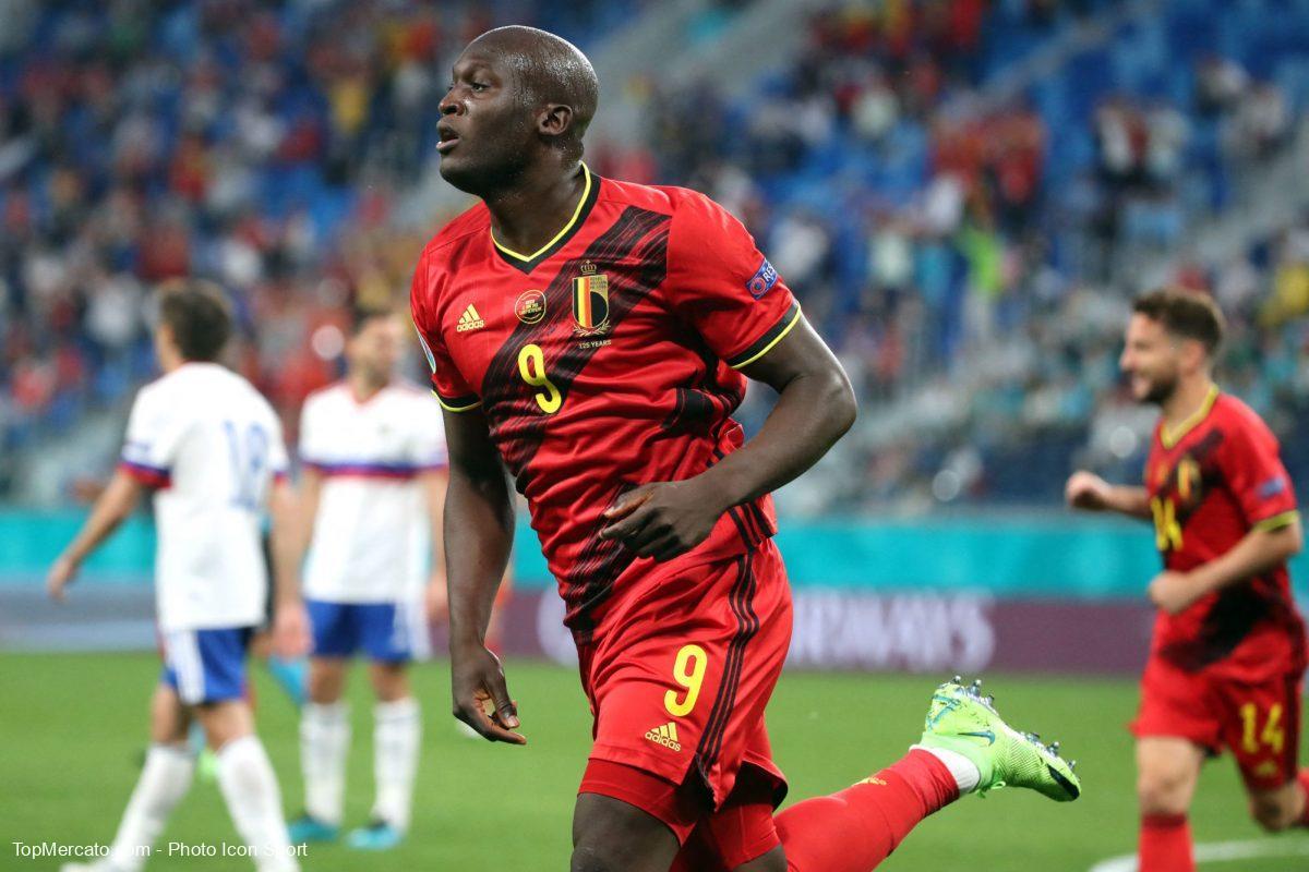 Romelu Lukaku, Belgique-Russie