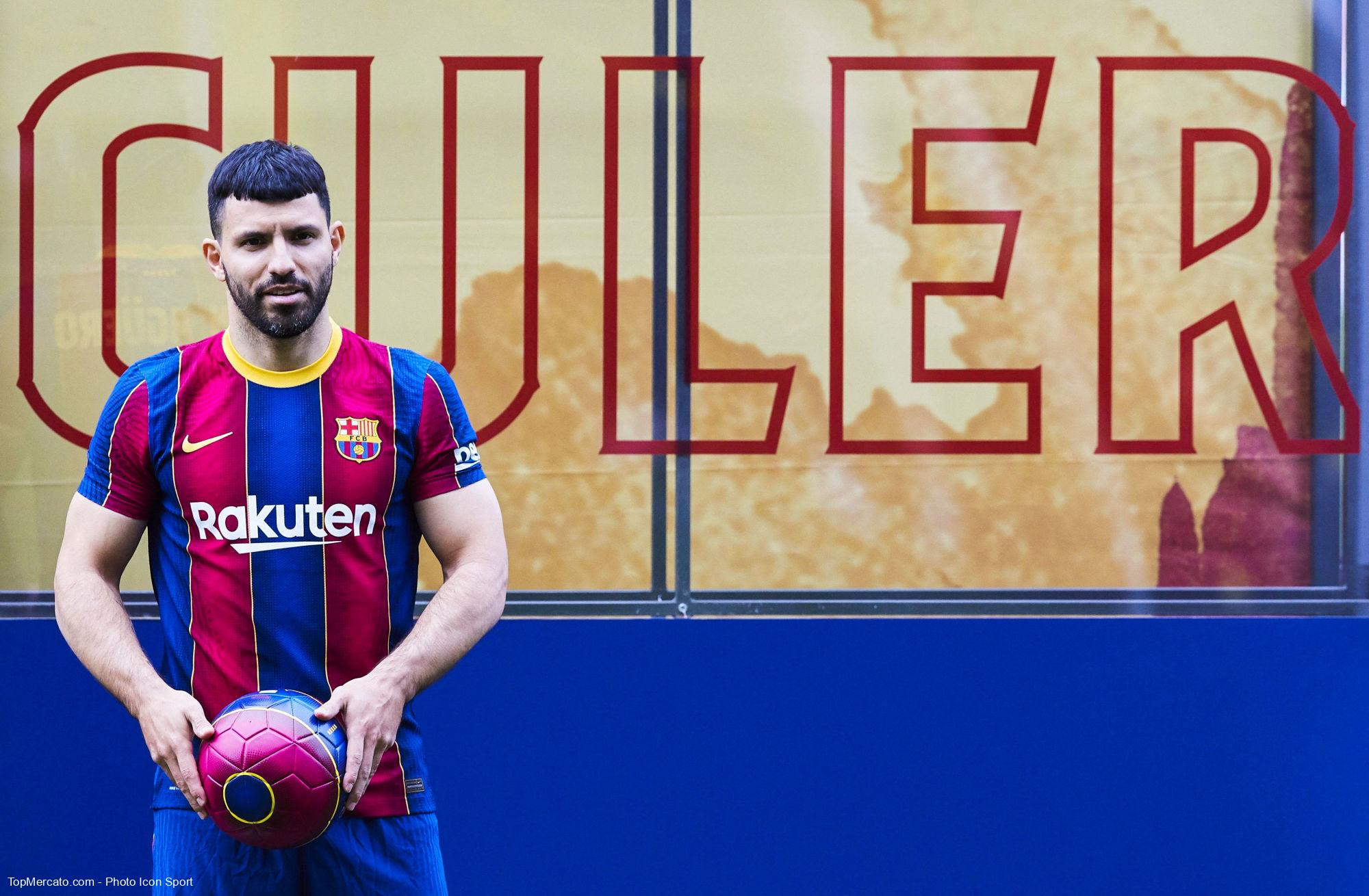 Sergio Agüero, Barça
