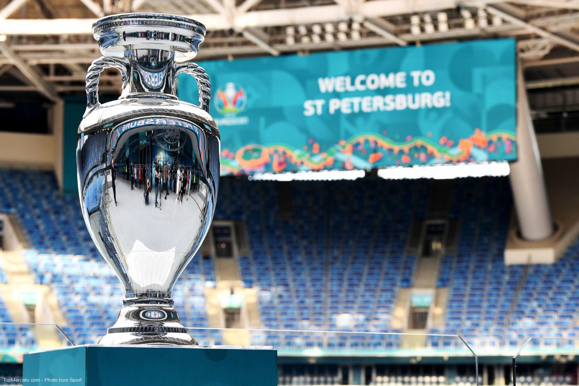 Trophée Euro 2020 2021, Télévision
