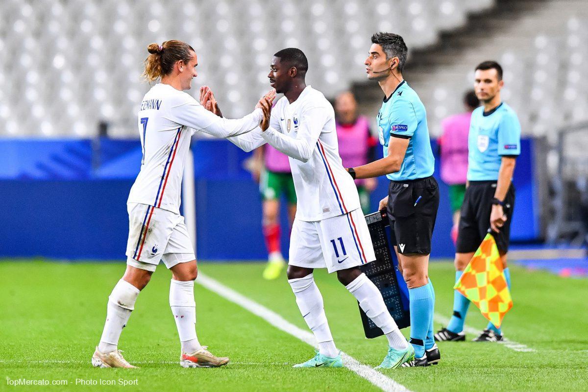 Antoine Griezmann Ousmane Dembélé France Bleus