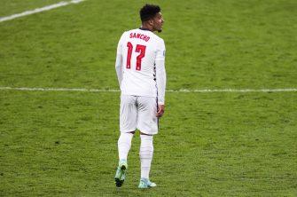 Jadon Sancho, équipe d'Angleterre