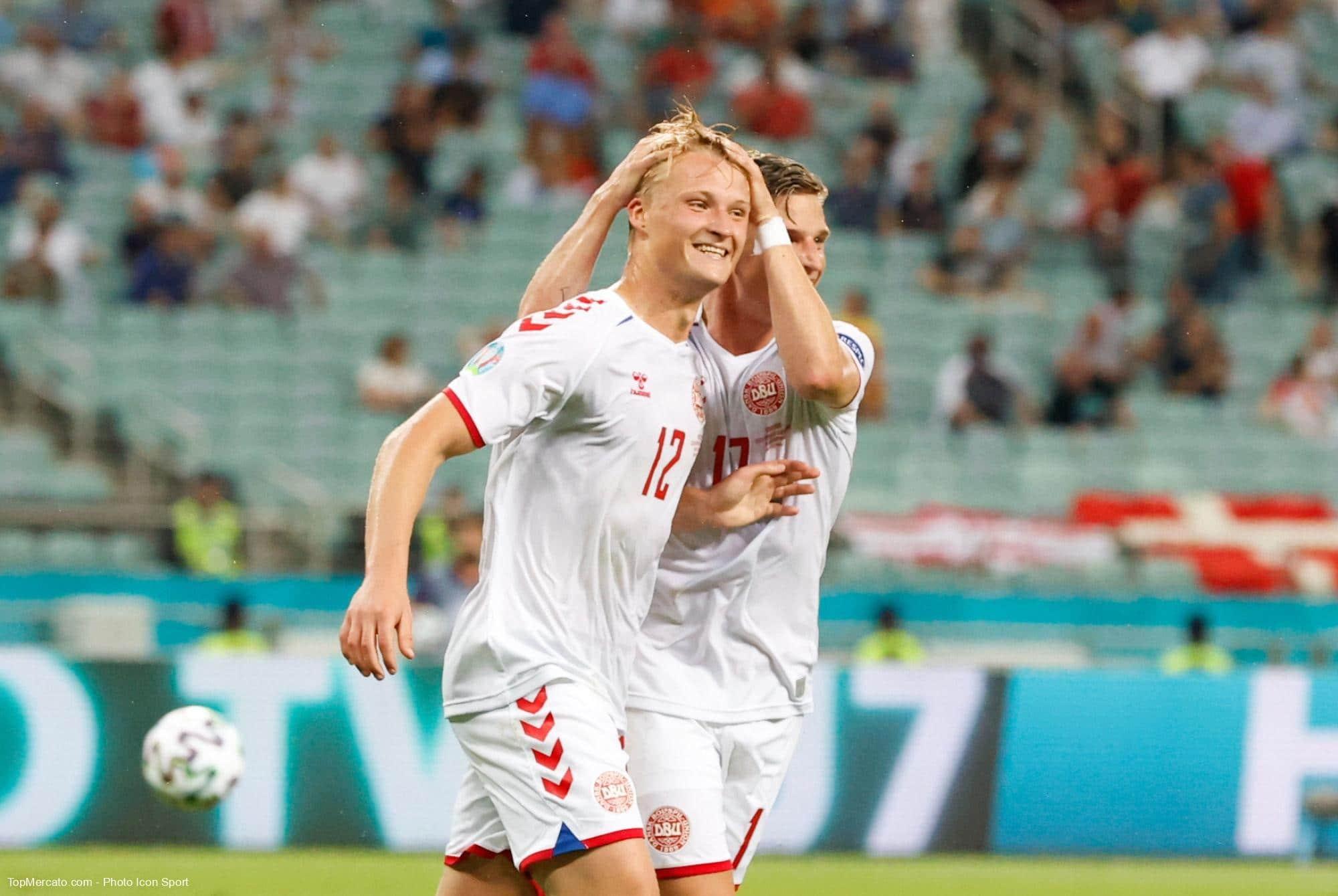 Kasper Dolberg, République tchèque Danemark