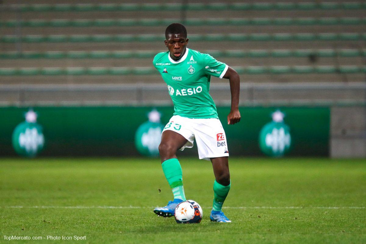 Lucas Gourna, AS Saint-Etienne