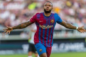 Memphis Depay, FC Barcelone-Stuttgart