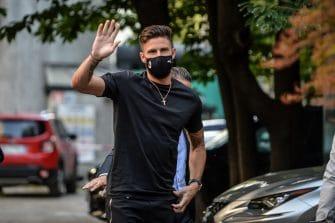 Olivier Giroud, Milan AC