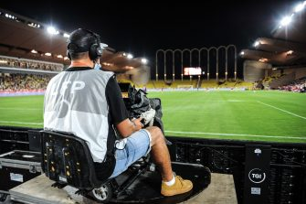 AS Monaco, Stade Louis II, télévision