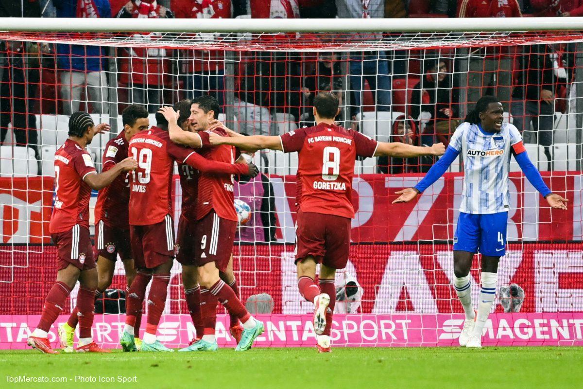 Bayern Munich-Hertha Berlin, Bundesliga