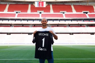 Benjamin Lecomte, Atletico Madrid