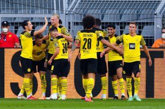 Borussia Dortmund-Eintracht Francfort
