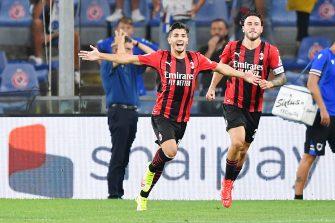Brahim Diaz, Sampdoria-Milan AC