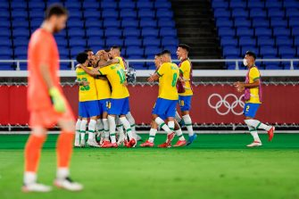 Brésil-Espagne, Jeux Olympiques de Tokyo