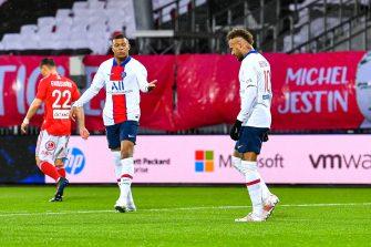 Kylian Mbappé et Neymar, PSG