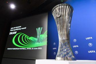 Ligue Europa Conférence, illustration, trophée