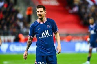 Lionel Messi, Reims-PSG