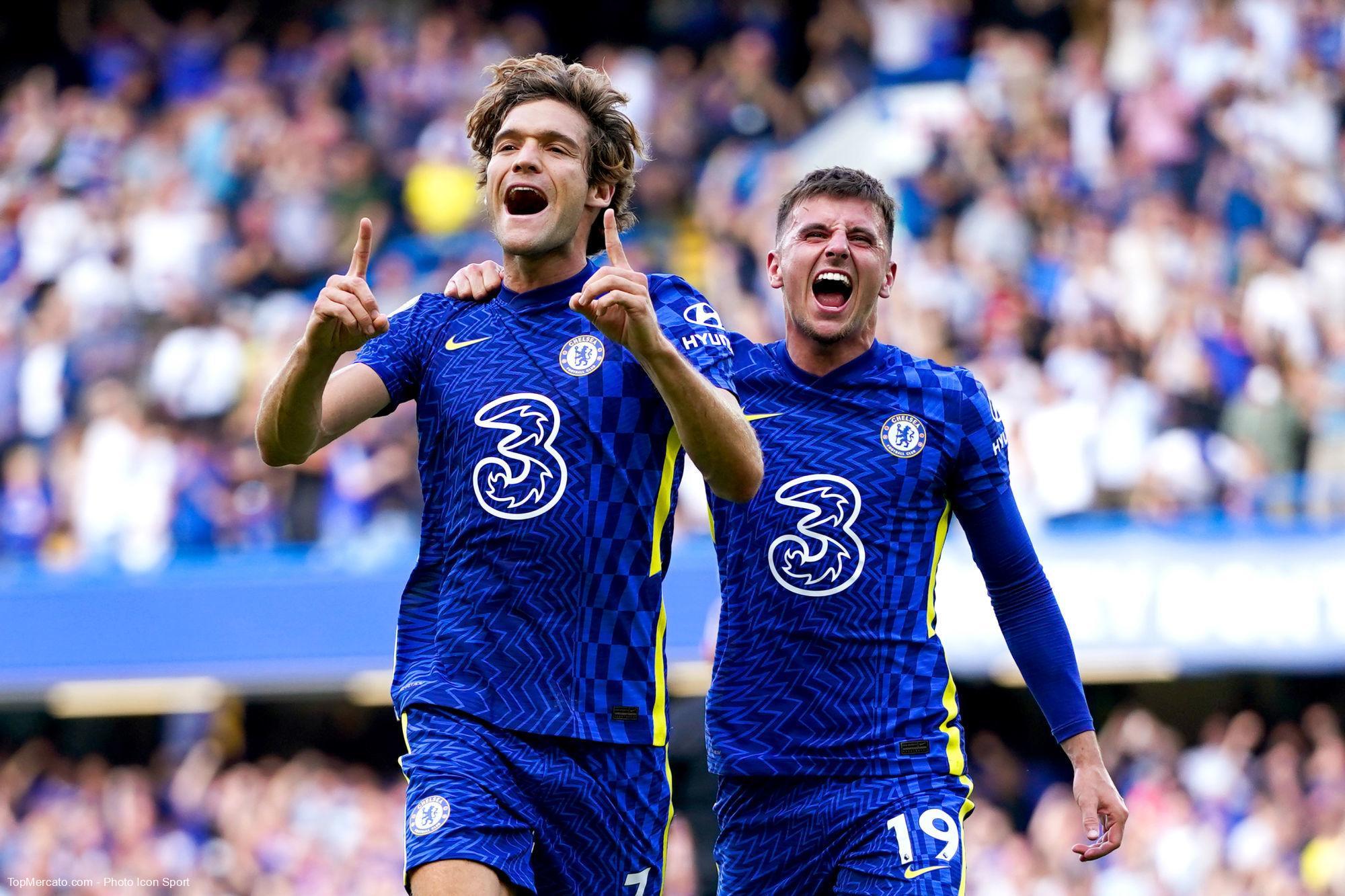 Marcos Alonso et Mason Mount, Chelsea-Crystal Palace