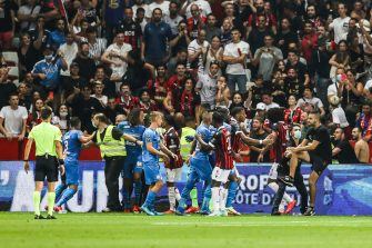 Nice-OM, incidents supporters