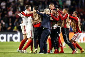 PSV-Benfica, joie