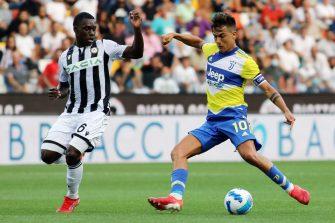 Paulo Dybala, Juventus Turin-Udinese