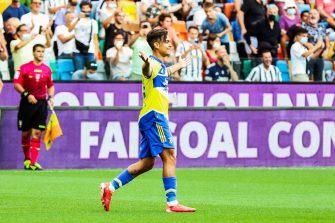 Paulo Dybala, Udinese-Juventus Turin