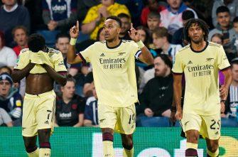Pierre-Emerick Aubameyang, WBA-Arsenal