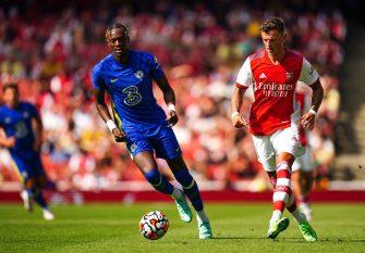 Tammy Abraham et Ben White, Chelsea-Arsenal