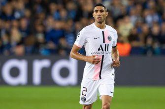 Achraf Hakimi, PSG, Paris Saint-Germain
