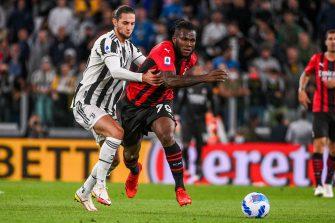 Adrien Rabiot et Franck Kessié, Juventus Turin-Milan AC