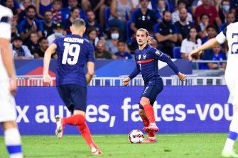 Antoine Griezmann et Karim Benzema, équipe de France