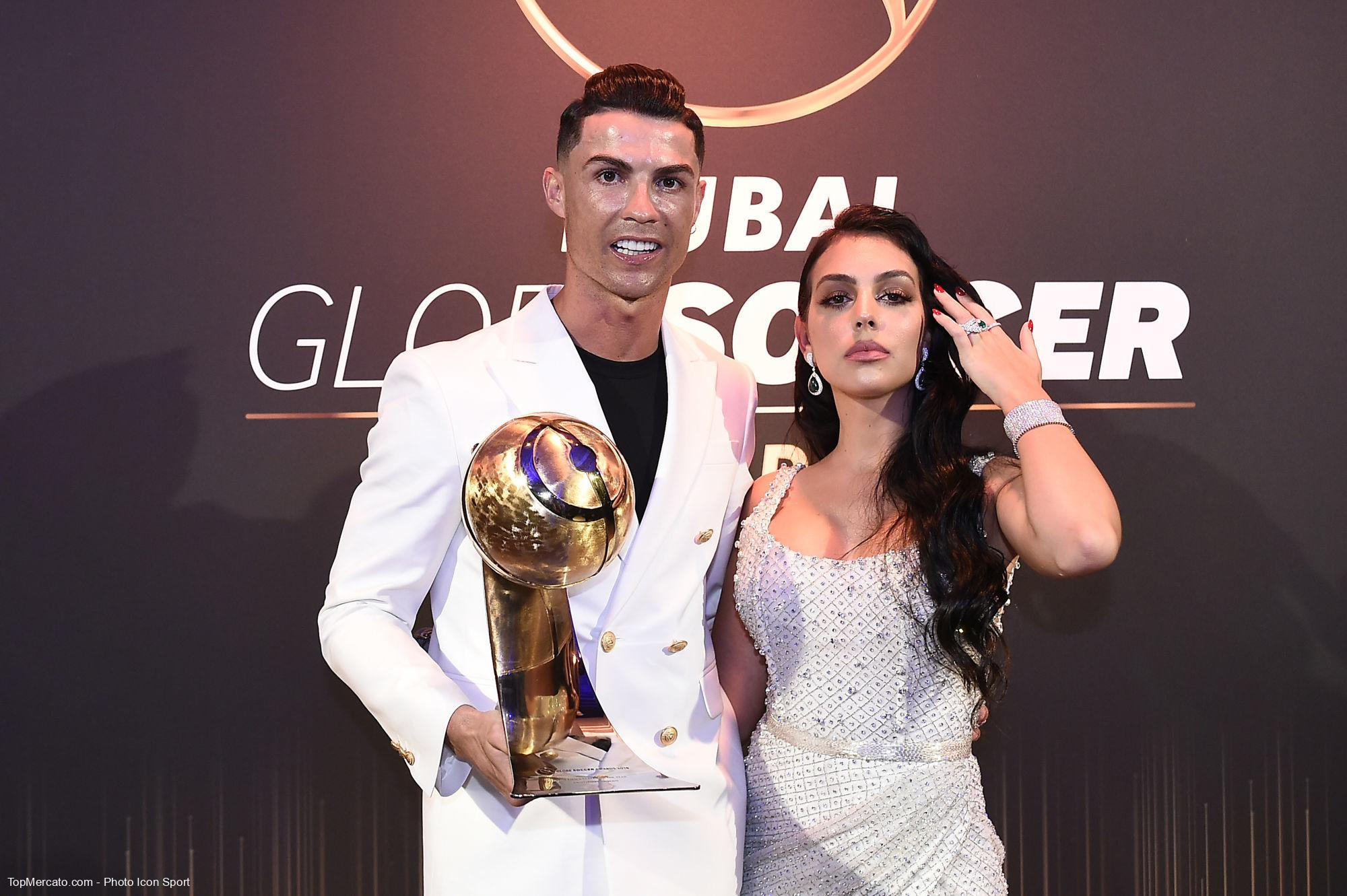 Cristiano Ronaldo, Georgina Rodriguez, Manchester United