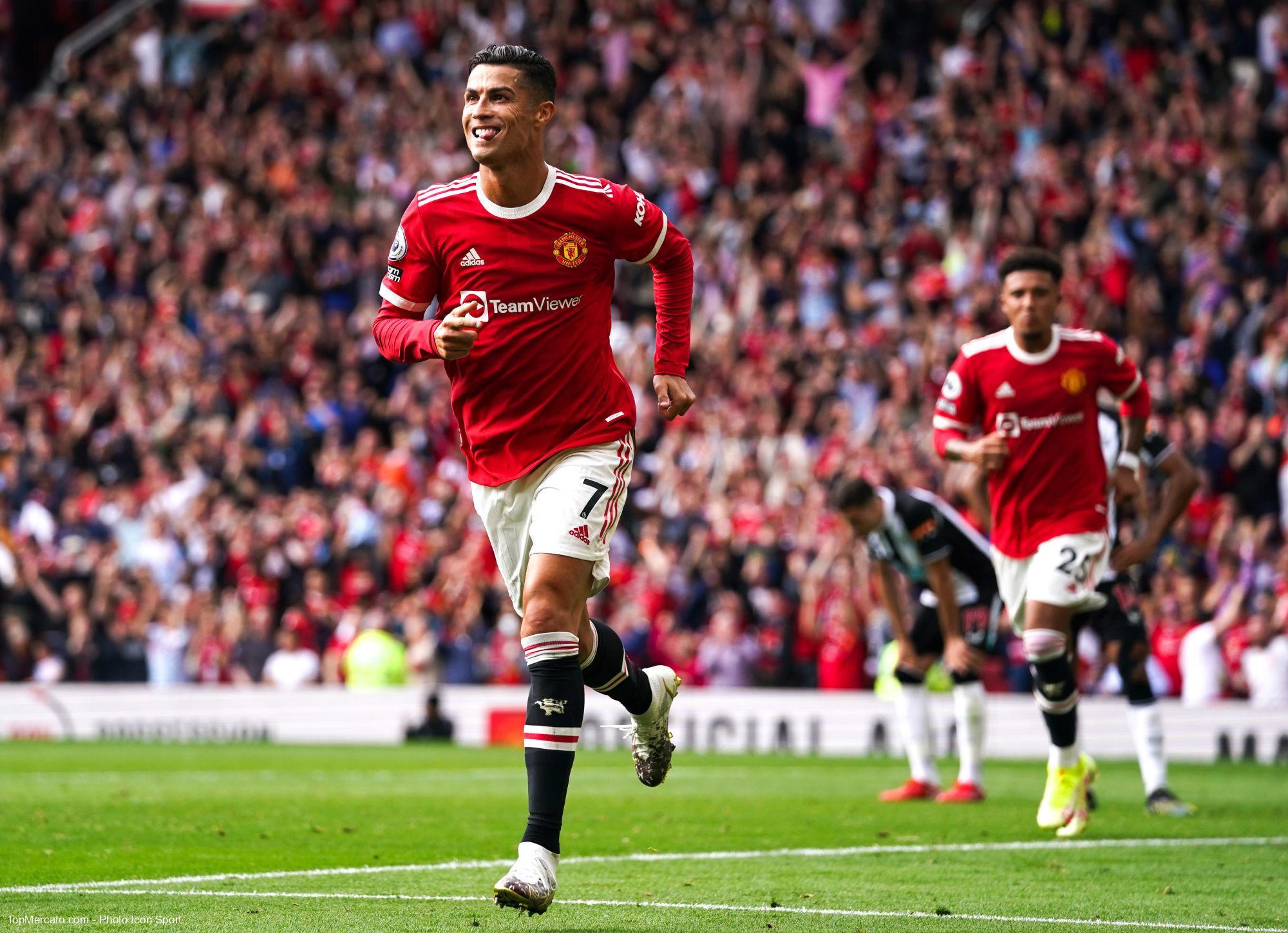Cristiano Ronaldo, Manchester United-Newcastle