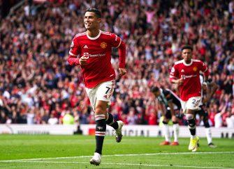 Cristiano Ronaldo Manchester United Newcastle