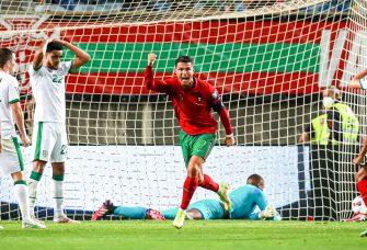 Cristiano Ronaldo, Portugal-Irlande