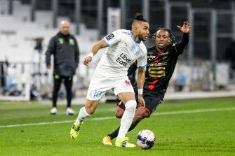 Dimitri Payet, match OM Marseille - Rennes Stade Rennais