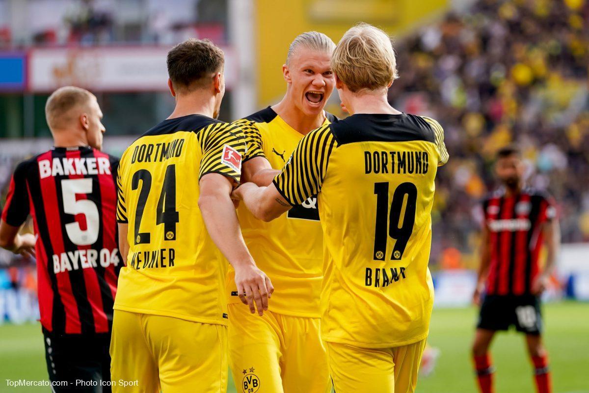 Erling Haaland, Bayer Leverkusen-Borussia Dortmund