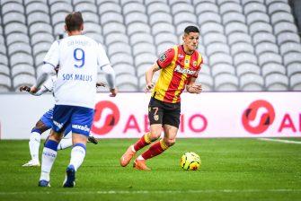 Florian Sotoca, match RC Lens - Stade de Reims