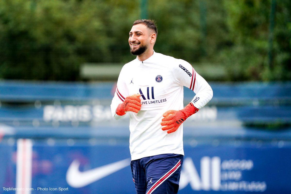 Gianluigi Donnarumma, Paris Saint-Germain, PSG