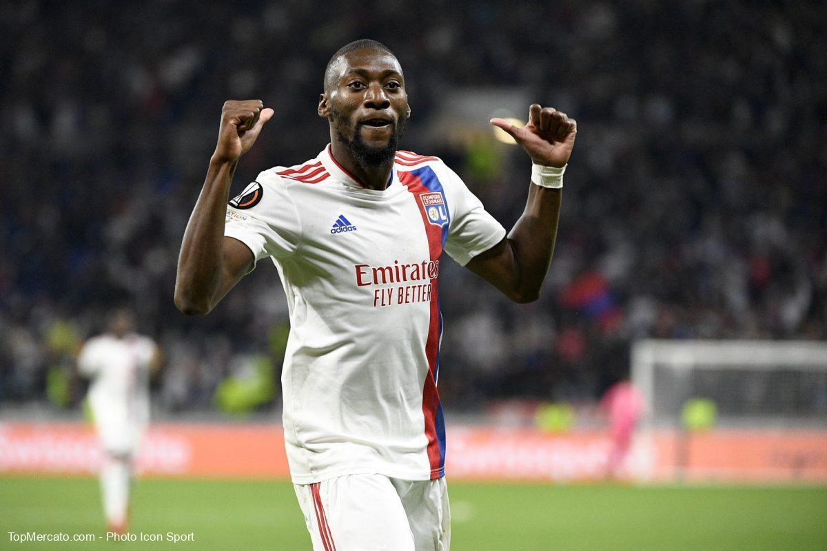 Karl Toko-Ekambi, match Olympique Lyonnais-Brondby
