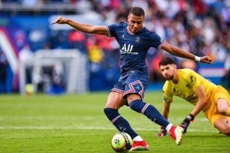 Kylian Mbappé, PSG-Clermont