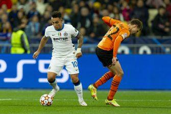Lautaro Martinez, Shakhtar Donetsk-Inter Milan