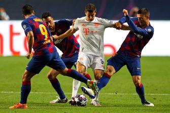 Lewandowski, match Bayern Munich - FC Barcelone Barça