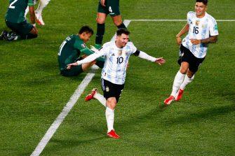 Lionel Messi, Argentine-Bolivie