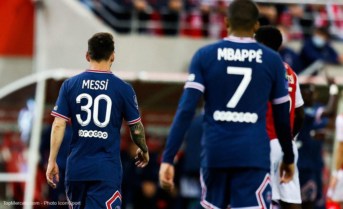 Lionel Messi-Kylian Mbappé