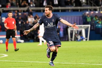 Lionel Messi, PSG-Manchester City