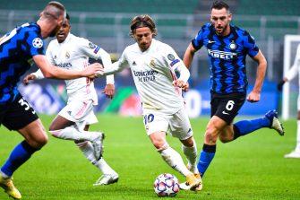Luka Modric, match Inter Milan - Real Madrid