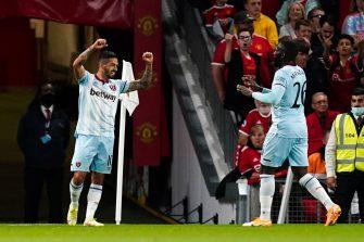 Manuel Lanzini, Man Utd-West Ham United